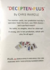 Decepten Plus by Chris Wardle